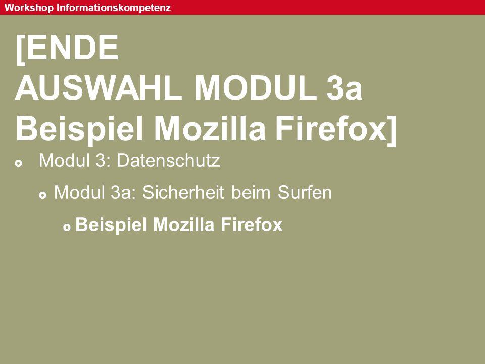 AUSWAHL MODUL 3a Beispiel Mozilla Firefox]